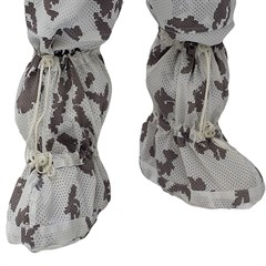 """""""Mirage"""" White Camouflage Boot Covers"""