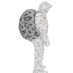 """""""Mirage"""" White Camouflage Backpack Cover"""