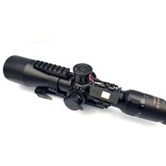 Illumination Of Sniper Scope Adjustments